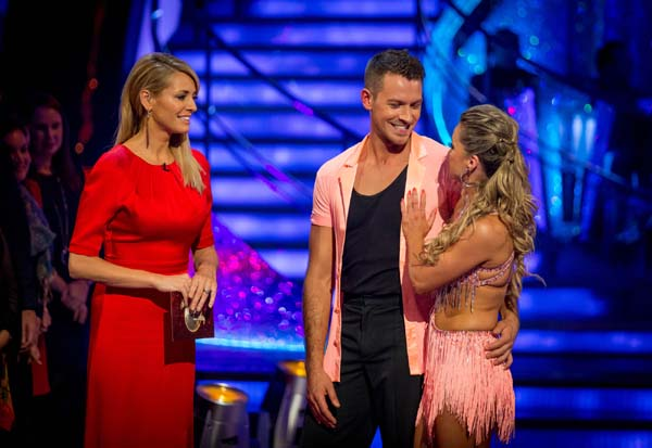 Ashley Taylor Dawson and Ola Jordan Leave In Week 11 Of Strictly Come Dancing 2013