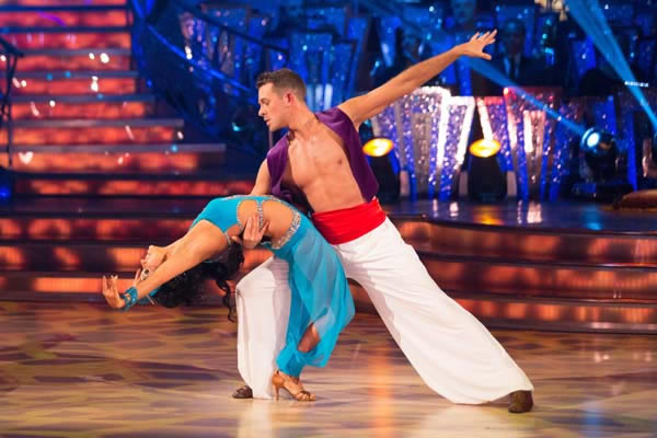 Ashley Taylor Dawson and Ola Jordan Perform In Week 10 Of Strictly Come Dancing 2013