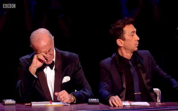 Len Goodman Feeling The Strain In Week 11 Of Strictly Come Dancing 2013
