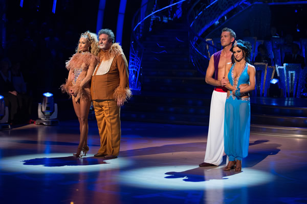 Mark Benton and Iveta Lukosiute Face Ashley Taylor Dawson and Ola Jordan In The Dance-Off In Week 10 Of Strictly Come Dancing 2013