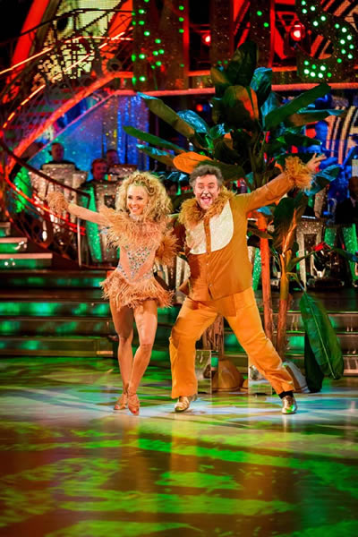 Mark Benton and Iveta Lukosiute Have A Lion King Moment In Week 10 Of Strictly Come Dancing 2013