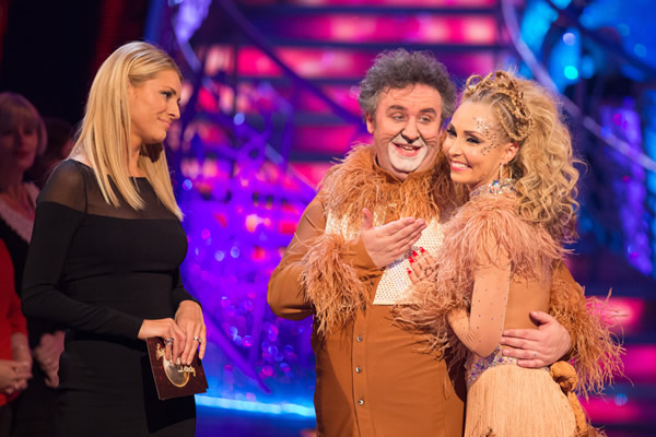 Mark Benton and Iveta Lukosiute Leave In Week 10 Of Strictly Come Dancing 2013
