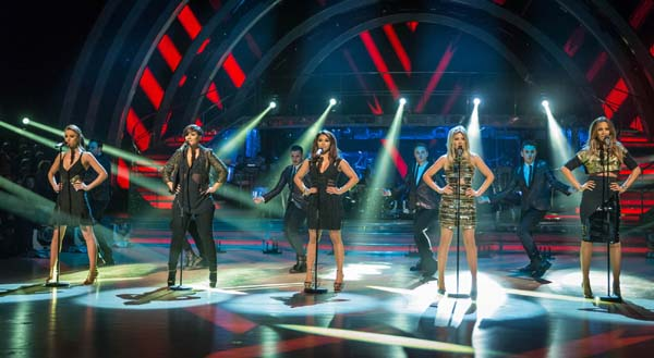 The Saturdays Perform On the Week 11 Results Show On Strictly Come Dancing 2013
